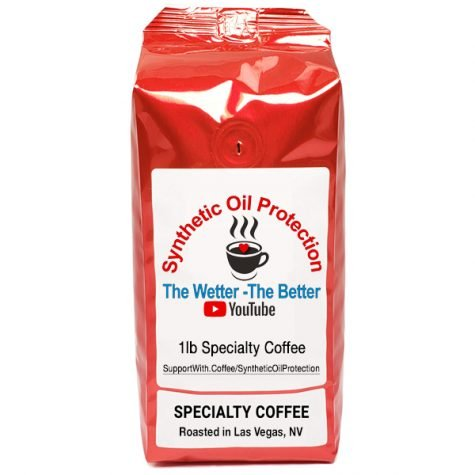 Synthetic Oil Protection Coffee